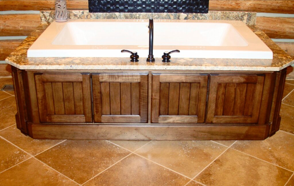 Bathroom Cabinetry & Tilework